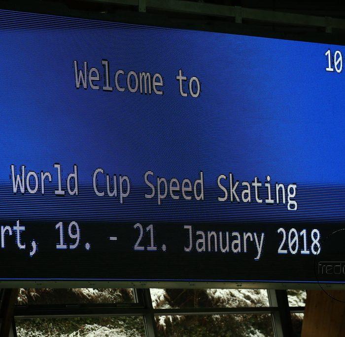 19.01.2018 ISU World Cup