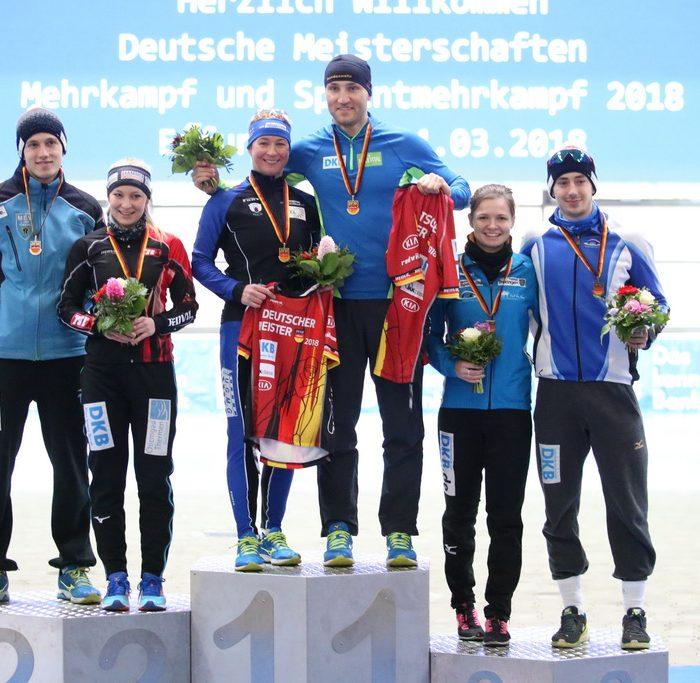 4.03.2018 Deutsche Meisterschaft Mehrkampf