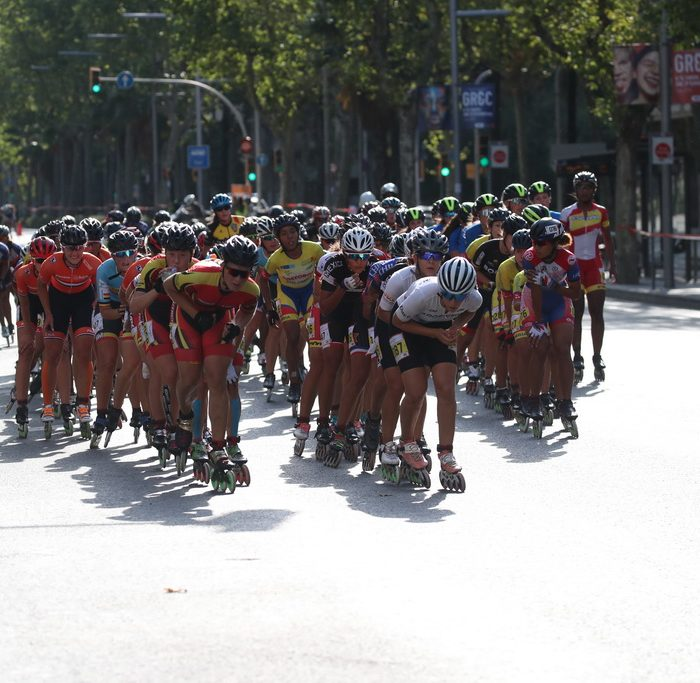 14.07.2019 World Roller Games Barcelona / Marathon